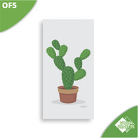 kaktus gambar daun estetik png