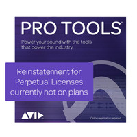 AVID 1-YEAR UPDATES + SUPPORT FOR PRO TOOLS REINSTATEMENT