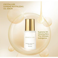Wardah Crystallure Superme Revitalizing Oil Serum 30ml