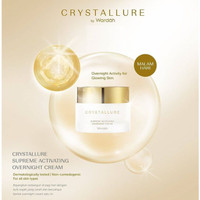 Wardah Crystallure Supreme Activating Overnight Cream (Night Cream)
