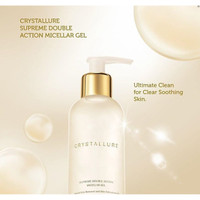 Wardah Crystallure Supreme Double Action Micellar Gel 150ml