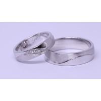 sepasang cincin silver termurah