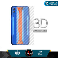 Garskin Blackshark 2 Pro Back Screen Protector Carbon Transparent