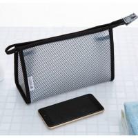 949 Tas Kosmetik Jaring Anti Air Transparan Organizer Cosmetic Pouch