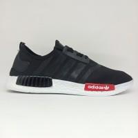 Sepatu Adidas NMD Import Casual Sport Pria Dewasa Hitam Olahraga