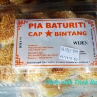 Pia Baturiti cap Bintang Rasa Wijen isi 8pcs