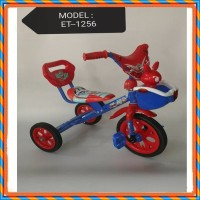 Sepeda anak balita Roda Tiga Exotic ET-1256-7