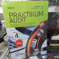 1 set laminating praktikum audit edisi 4 buku 1 dan 2 sukrisno agoes