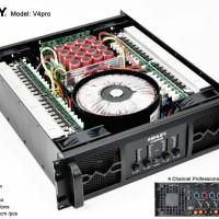 Ashley V4Pro 4 Channel Profesional Power Amplifier