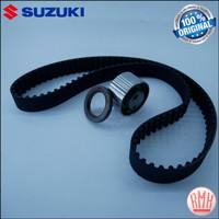 Timing Belt Kit / Set Sabuk APV, Futura Injection, Baleno, Escudo 1.6