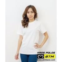 Kaos Polos Cotton Combed 30s size XS s/d 2XL