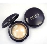 Mazaya Luminys Matte Radiance Baked Face Powder Golden Amore18gr