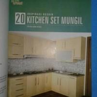 Buku murah HG-20 Inspirasi Desain Kitchen Set Mungil