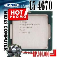 Processor Intel Core I5 4670 + Heatsink Intel ORI