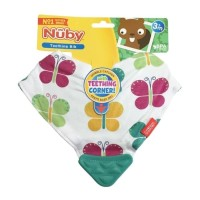 Nuby Bandana Bib With Teether - babyonboard