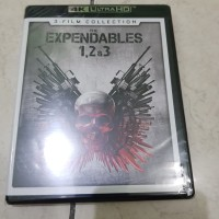 the expandables 1,2 & 3 4k uhd bluray