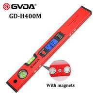 GVDA Digital Waterpas Inclinometer 400 mm Sudut Angle Protactor H400M