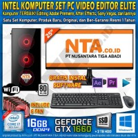 INTEL KOMPUTER SET PC VIDEO EDITOR ELITE