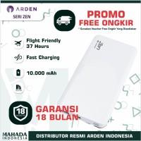 Powerbank Arden Seri Zen - 10.000 mAH Garansi 18 Bulan Flight Friendly