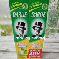 Pasta Gigi/Odol Darlie Double Action Paket 2pcs @ 225gram