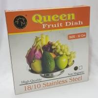 Golden Horse 555 Fruit Dish / Wadah Buah Stainless / Nampan Buah
