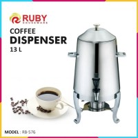 RUBY RB-576 Coffee Dispenser 13 Lt Stainless