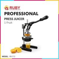 RUBY Professional Press Juicer RB-572 Perasan Jeruk Stainless