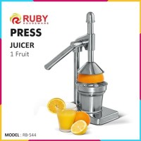RUBY Manual Press Juicer RB-544 Perasan Jeruk Stainless