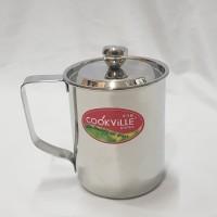 Cookville Stainless Combi Mug 500 ml / Cangkir Stainless 500 cc