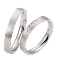 sepasang cincin perak microset termurah