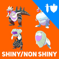 4 Fossil Pokemon Lengkap Sword dan Shield (Shiny/Non Shiny)