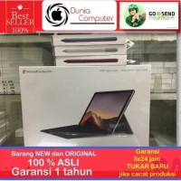 (Bundling) Microsoft Surface Pro 7 i5 8GB 128GB Silver+Cover Black+Pen
