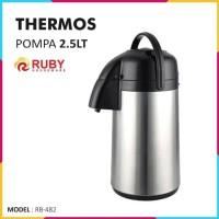 RUBY RB-482 Thermos Pompa Air 2.5 Lt [Panas & Dingin]