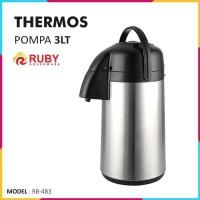 RUBY RB-483 Thermos Pompa Air 3 Lt [Panas & Dingin]