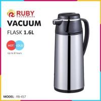 RUBY RB-457 Vacuum Flask 1.6Lt [Panas & Dingin]