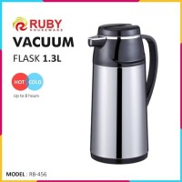 RUBY RB-456 Vacuum Flask 1.3Lt [Panas & Dingin]