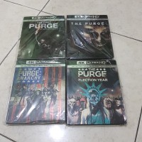 The Purge quadlogy 4k uhd bluray