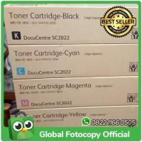 Toner Fuji Xerox Docucentre SC2022 High Capacity 1 Set CMYK Original