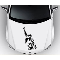 Sticker Decal Mobil Cutting Vinyl Vokalis Queen Freddie Mercury Kode B
