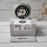 Jam Meja/ Weker Seiko QHE121M - LumiBrite & Quiet Sweep