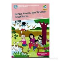 Buku Tematik SD Kelas 1 Tema 7 Benda, Hewan, dan Tanaman disekitarku
