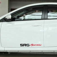 Sticker Decal Mobil Cutting Vinyl SRG Sportivo
