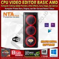 CPU VIDEO EDITOR BASIC AMD