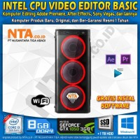 INTEL CPU VIDEO EDITOR BASIC