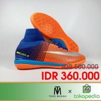 Sepatu Futsal Mercurial X Proximo II Deep Royal Blue IC Replika Impor
