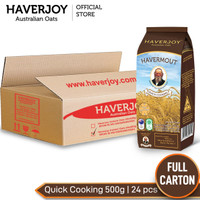 Haverjoy Full Cartoon Quick Cooking Oats 1 lkg