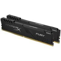 Kingston HX426C16FB3K2/8 (4Gb x 2) PC 2666 HyperX Fury Black