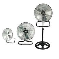 Kipas Angin 3 in 1 Kirin KIF-1831 (Stand fan , wall fan , desk fan)