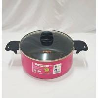 Supor Fruits Nonstick Pan - Panci Pink Supor Anti Lengket 24 cm