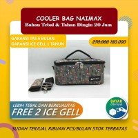 COOLER BAG NAIMAX - CANNES BIG BLACK / TAS ASI COOLER BAG NAIMAX
